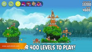 Angry Birds Rio Mod Apk [Unlimited Items] 2021 3