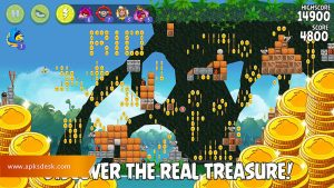Angry Birds Rio Mod Apk [Unlimited Items] 2021 4