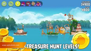Angry Birds Rio Mod Apk [Unlimited Items] 2021 5