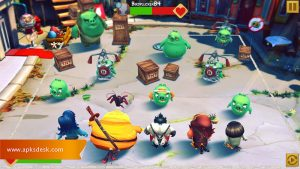 Angry Birds Evolution MOD APK [Unlimited Coins] 2021 4