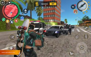 Rope Hero Vice Town Mod Apk [Unlimited Cash] 2021 2
