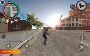 Rope Hero Vice Town Mod Apk [Unlimited Cash] 2021 4
