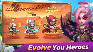 Taptap Heroes Mod Apk Unlimited Money And Gems 2021 2